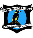 Wingham Brush Public School logo